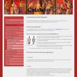 les magistratures romaines