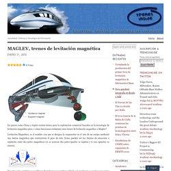 MAGLEV, trenes de levitación magnética