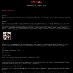 Magma par antoine Decaunes