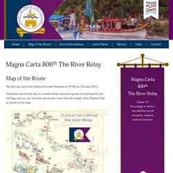 Magna Carta 800th The River Relay