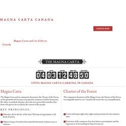 Magna Carta Canada