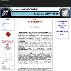 Mágnesfal,magnetwall - G-Portál