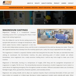 Magnesium Castings - Ibex Engineering