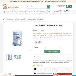 Magnesium quatro 900 60 gélules