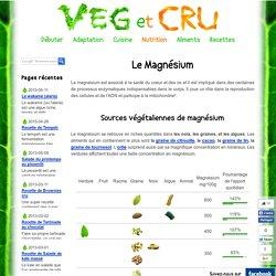 Le magnésium pour les végétariens