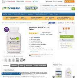Magnesium with SRT® - 120 Tablets