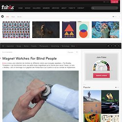 Magnet Watches For Blind People