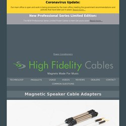 Speaker Cable to RCA