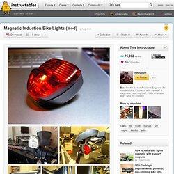 Induction magnétique Lumières de vélo (Mod)