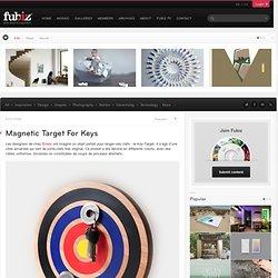 Magnetic Target For Keys