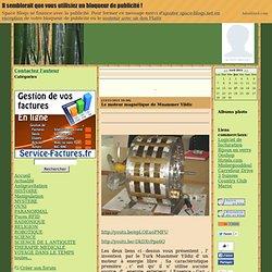Le moteur magnétique de Muammer Yildiz bm77 / Sciences