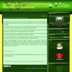 Prière pour la guérison d'un animal familier - Le blog de sylvie-magnetiseur-guerisseur-animaux