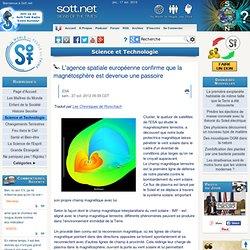 L'agence spatiale européenne confirme que la magnétosphère est devenue une passoire