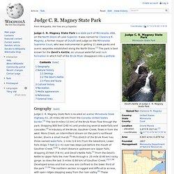 Judge C. R. Magney State Park