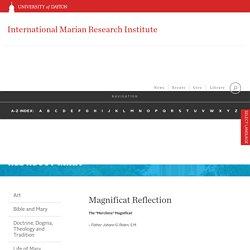 Magnificat Reflection : University of Dayton, Ohio
