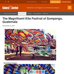 The Magnificent Kite Festival of Sumpango, Guatemala