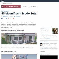 45 Magnificent Modo Tuts