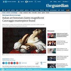 Italian art historian claims magnificent Caravaggio masterpiece found