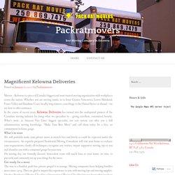 Magnificent Kelowna Deliveries
