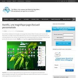Startific, une magnifique page d'accueil personnalisée