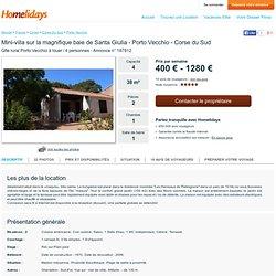 Mini-villa sur la magnifique baie de Santa Giulia - Porto Vecchio - Corse du Sud - Annonce n° 187812