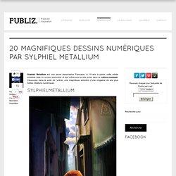 20 magnifiques dessins numériques par Sylphiel Metallium