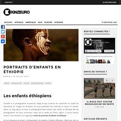 9 magnifiques portraits d'enfants en Éthiopie par Diego Arroyo