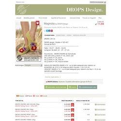 """Magnolia - Chaussons feutrés DROPS avec fleurs, en """"Eskimo"""". Du 35 au 44. - Free pattern by DROPS Design"""