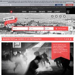 Que faire à Paris Magnum Photo ◆ L'agence et les photographes