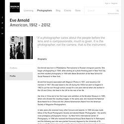 Magnum Photos Photographer Profile