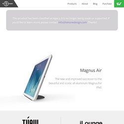 Magnus Air - Magnetic stand for iPad Air & iPad Air 2.