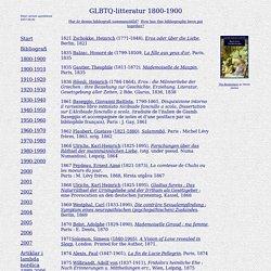 Jan Magnussons bibliografi över svenska och vissa utländska GLBTQ-romaner samt forskning