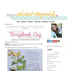nichol magouirk: Scrapbook Layouts