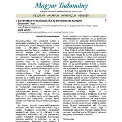 Magyar Tudomány