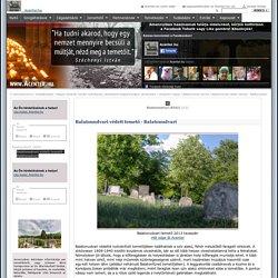 Balatonudvari védett temető