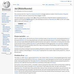 Asi (Mahabharata)