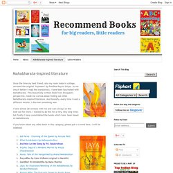 Recommend Books: Mahabharata-inspired literature