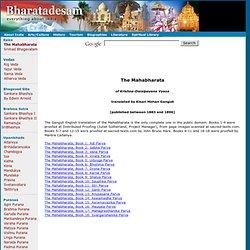 Mahabharata Of Vyasa, A Complete Translation By Kisari Mohan Gaguly