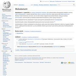 Mahakatarri