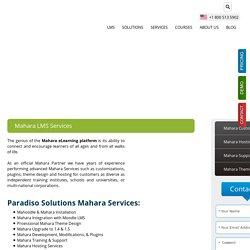 Mahara Services