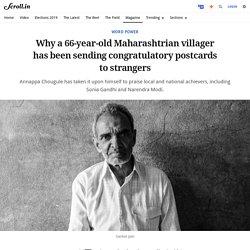 Annappa Chougule: The Maharashtrian villager who sends congratulatory postcards to strangers