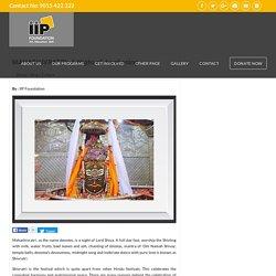 Mahashivratri- Lord Shiva