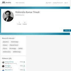 Mahendra Kumar Trivedi