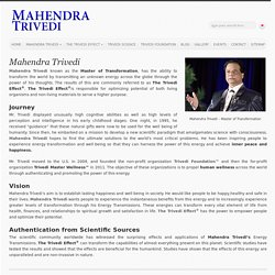 Mahendra Trivedi Master Blessing Works Wonders