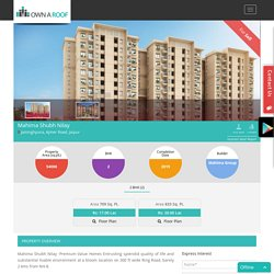Search all Projects of Mahima Group Jaipur
