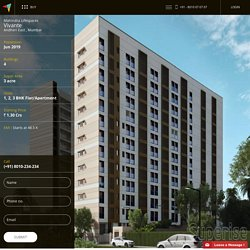 Mahindra Lifespaces Vivante Andheri East Mumbai