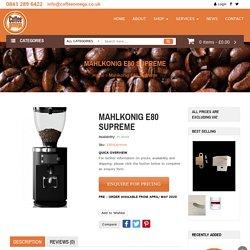 Mahlkonig EK43 Grinder - Coffee Omega