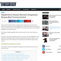 Maidenform Flexees Women's Shapewear Review-Best Tummy Control
