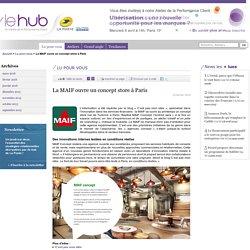 La MAIF ouvre un concept store à Paris