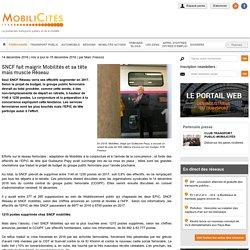 SNCF fait maigrir Mobilités et sa tête mais muscle Réseau